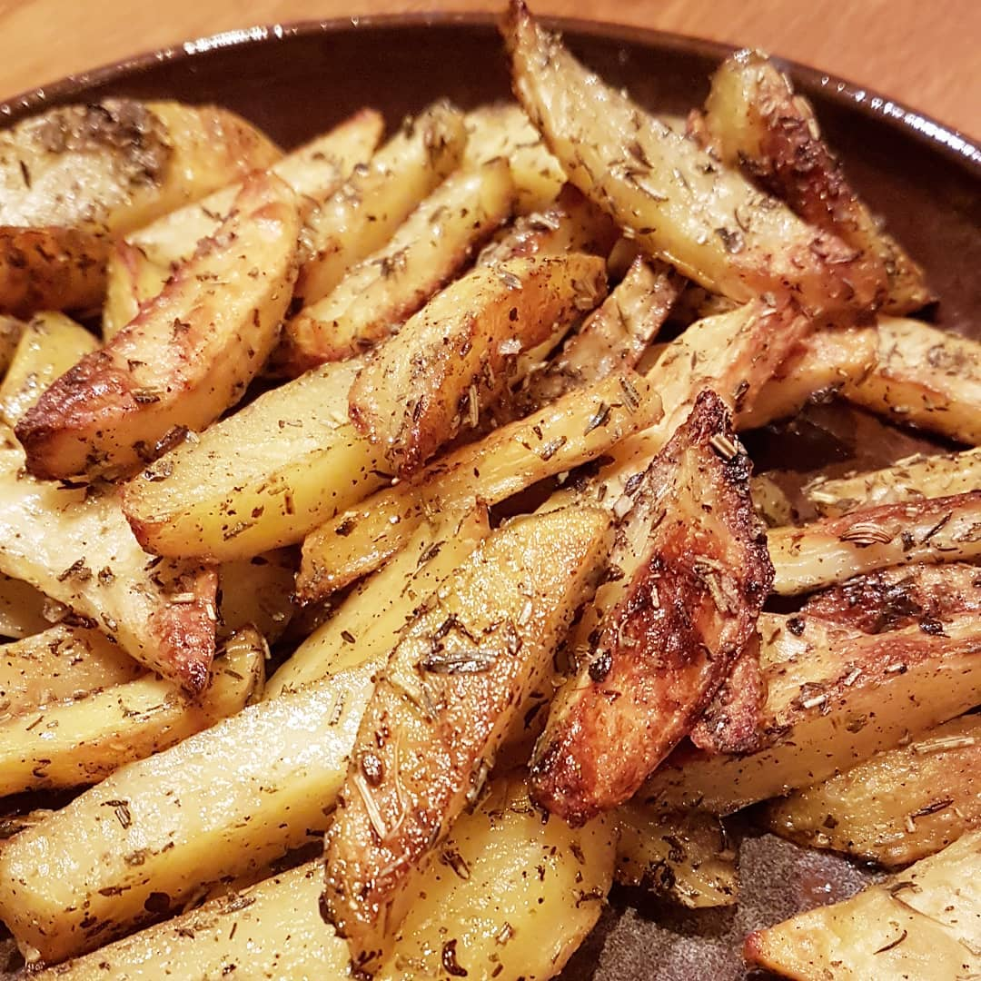 Recette des frites maison au four  Camille se lance !