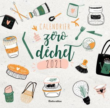 Mon calendrier Zéro Déchet 2021 est sorti ! | Camille se lance !